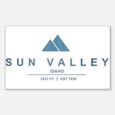Sun Valley Ski Resort Idaho Decal