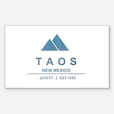 Taos Ski Resort Decal