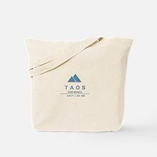 Taos Ski Resort Tote Bag