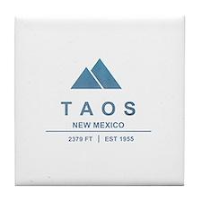 Taos Ski Resort Tile Coaster