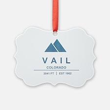 Vail Ski Resort Ornament