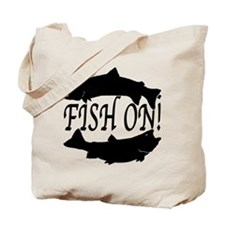 Fish on two Tote Bag