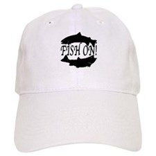 Fish on two Baseball Cap