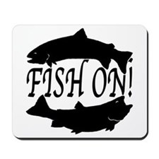 Fish on two Mousepad