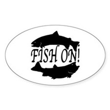 Fish on two Decal