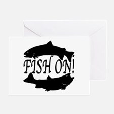 Fish on two Greeting Card
