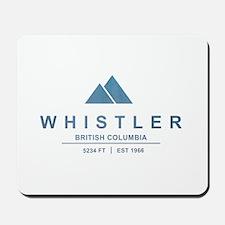 Whistler Ski Resort Mousepad