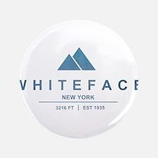 "Whiteface Ski Resort 3.5"" Button"