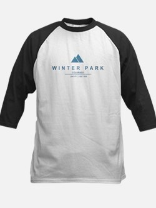 Winter Park Ski Resort Baseball Jersey