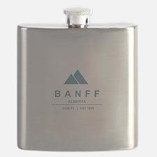Banff Ski Resort Alberta Flask