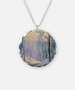 Winter brook pastel Necklace