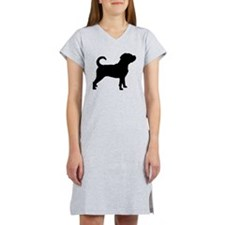 Puggle Dog Women's Nightshirt