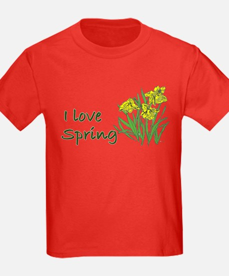I Love Spring (Daffodils) T