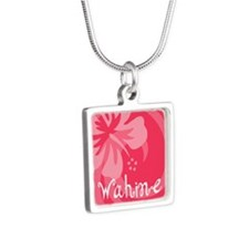 Wahine Silver Square Necklace