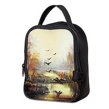 Autumn hunting pastel Neoprene Lunch Bag