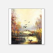 Autumn hunting pastel Sticker