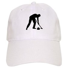 Curling player team Baseball Cap
