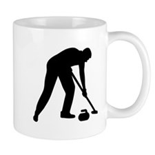 Curling player team Mug