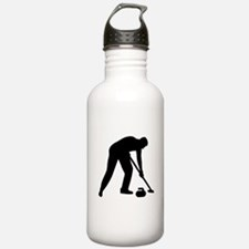 Curling player team Water Bottle