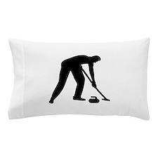Curling player team Pillow Case