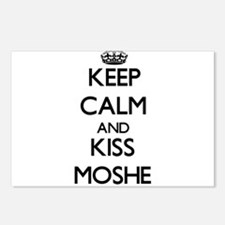 Keep Calm and Kiss Moshe Postcards (Package of 8)