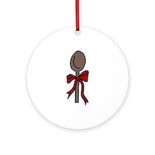 Kitchen Spoon Ornament (Round)