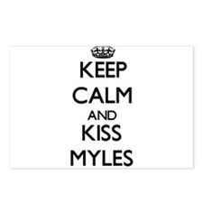 Keep Calm and Kiss Myles Postcards (Package of 8)