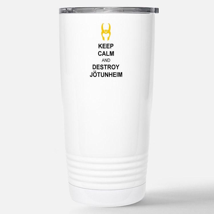 KEEP CALM Travel Mug