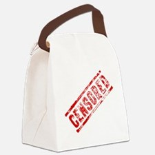 Cute Censors Canvas Lunch Bag