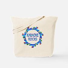 Karaoke Rocks Tote Bag