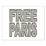 FREE PARIS (BLING EDITION) Small Poster