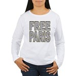 FREE PARIS (BLING EDITION) Women's Long Sleeve T-S