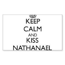Keep Calm and Kiss Nathanael Decal