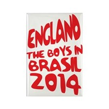 England World Cup 2014 Rectangle Magnet