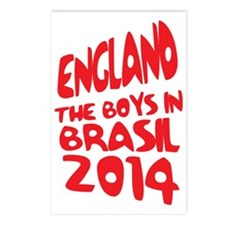 England World Cup 2014 Postcards (Package of 8)