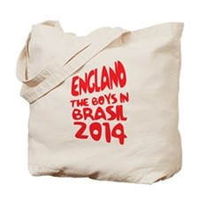 England World Cup 2014 Tote Bag