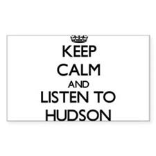 Keep Calm and Listen to Hudson Decal