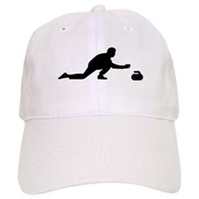 Curling player Baseball Cap
