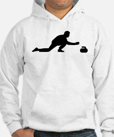 Curling player Hoodie Sweatshirt