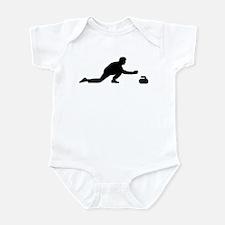 Curling player Infant Bodysuit