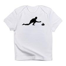 Curling player Infant T-Shirt