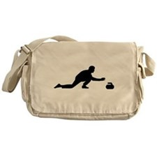 Curling player Messenger Bag