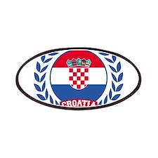 Croatia Wreath Patches