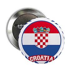 "Croatia Wreath 2.25"" Button (10 pack)"