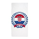 Croatia Beach Towels