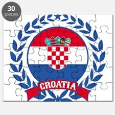 Croatia Wreath Puzzle