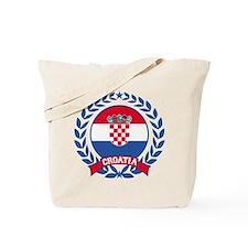 Croatia Wreath Tote Bag