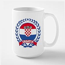 Croatia Wreath Mugs
