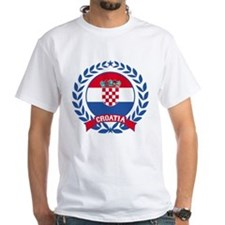 Croatia Wreath T-Shirt