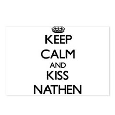 Keep Calm and Kiss Nathen Postcards (Package of 8)